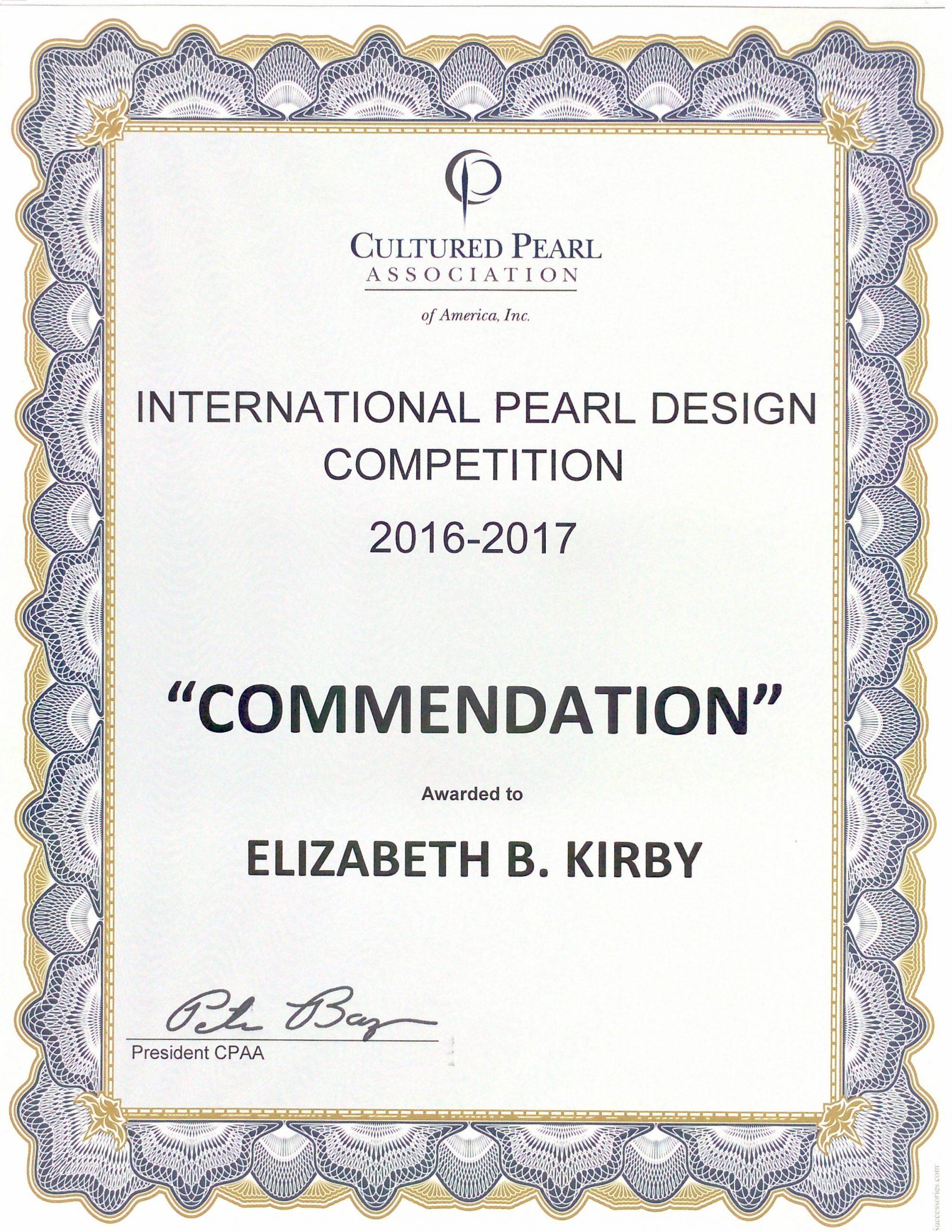 CPAA Award 2016
