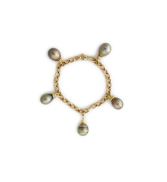 Olive Pistachio Bracelet