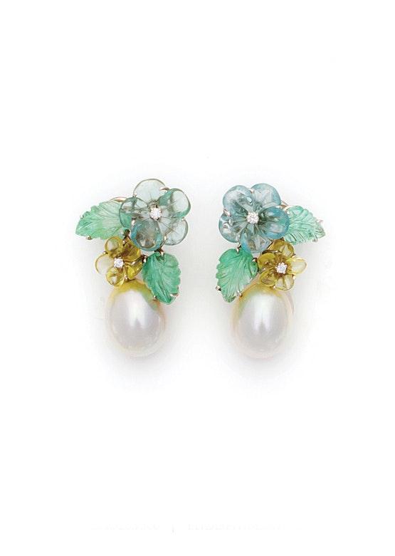 Spring Floral Earrings