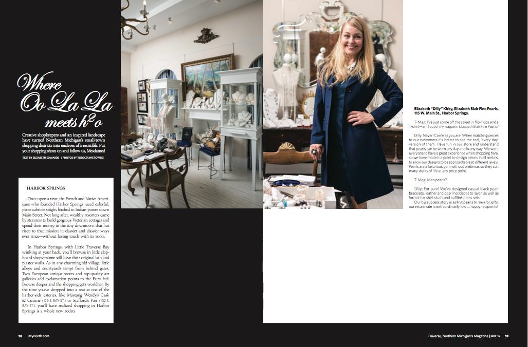 Traverse Mag Story September 2016