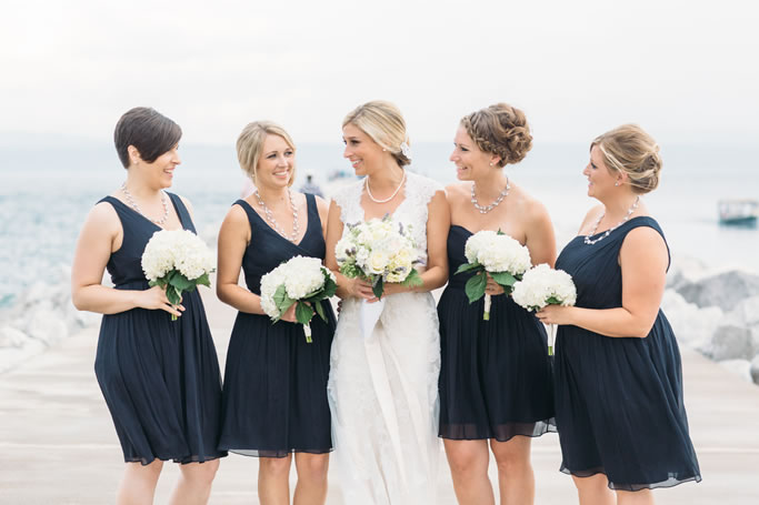 bridal party pearls